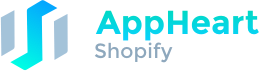 Shopify Native App AppHeart Logo